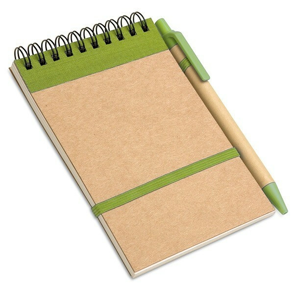 Recycle ECO notitieboek met pen