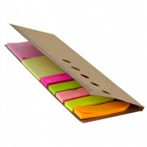 Memo liniaal met sticky notes
